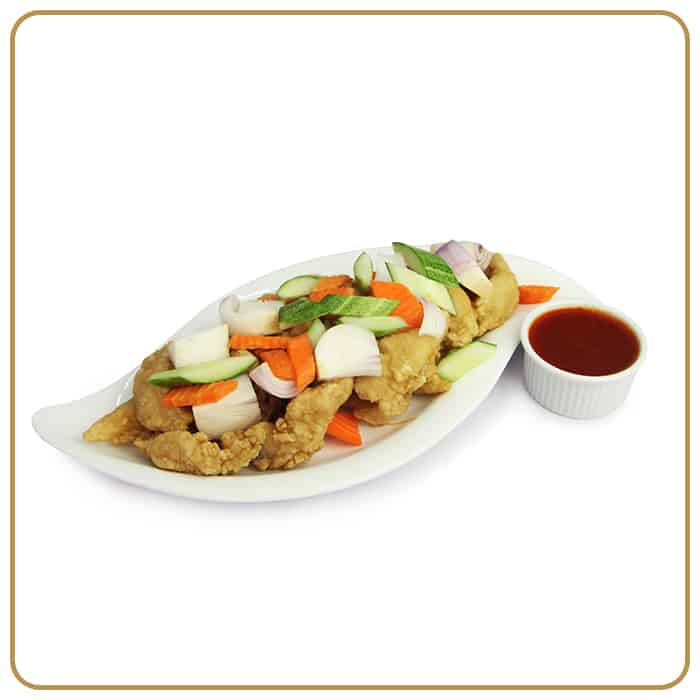 Buffet Catering - Sweet & Sour Style Fish Fillet