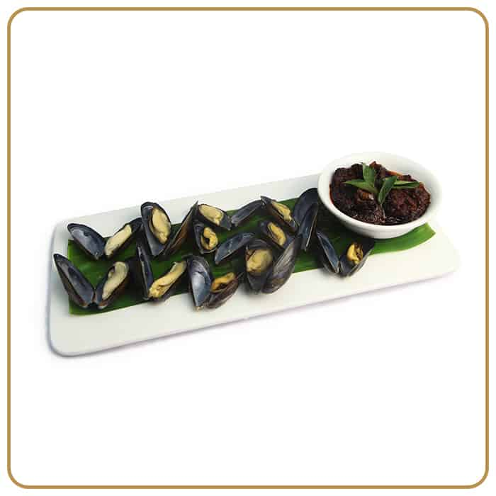 Buffet Catering - Kam Heong Style Green Mussels