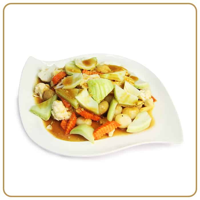 Buffet Catering - Fried Mix Vegetables