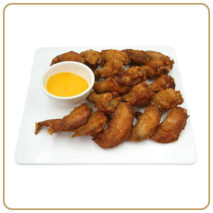 Buffet Catering - Cheezy Fried Chicken Wings