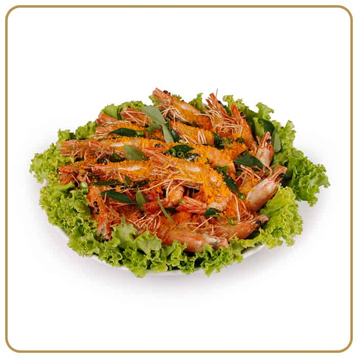 Buffet Catering - Salted Egg Prawns
