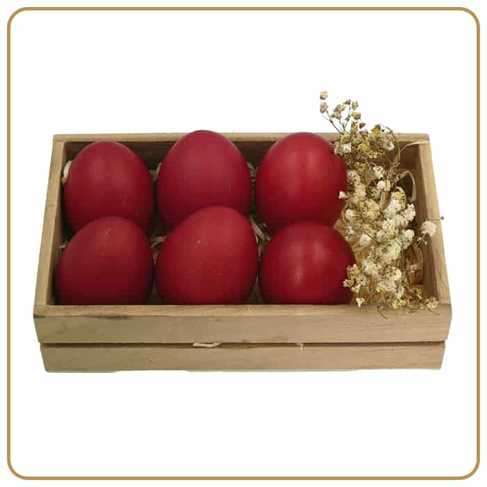 Buffet Catering - Red Eggs